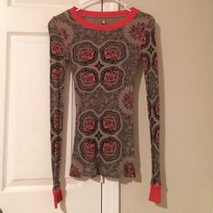 Free People Long Sleeve Free People Long Sleeve Shirt. Size: Small. Free People Tops Tees - Long Sleeve