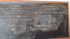 Primera setmana de classes. Molt bones idees de @ jmab76