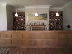 The Bar at Coombe Lodge.