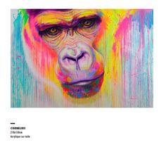 """Exposition """"UrbainIsme, expression de rue"""" des artistes Kongo - FenX - Noé Two. Marseille du 7 nov au 7 déc.14 au 22 rue E.Rostand en partenariat avec streetartgalerie.com"""