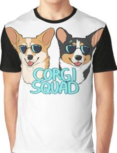 CORGI SQUAD - (The Doctor and the Queen) Camiseta gráfica