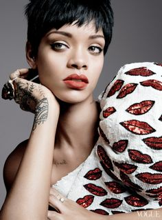 Rihanna Lands Third Vogue Cover For Magazines March Issue