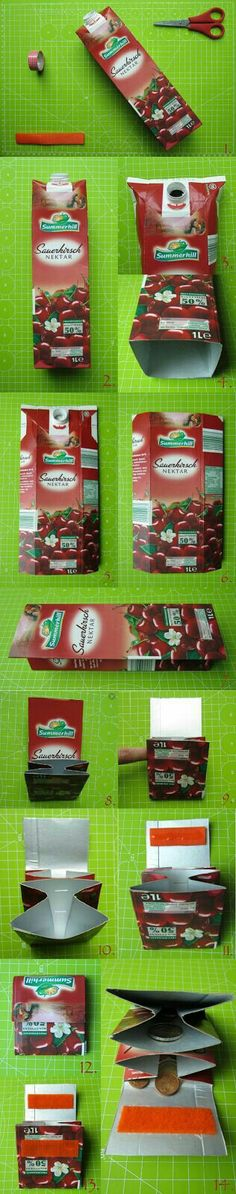 Porta Níquel - embalagem Tetra Pack