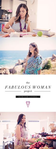 The Fabulous Woman Project is the Ultimate 6 Week Program to Transform Your Mind, Body & Soul... for Life! Created by Holistic Health & Wellness Coach, Sam Cannell. The Fabulous Woman Project is the roadmap combined with the guidance and support that you have been waiting for. Find out more at fabulous.samcannell.com