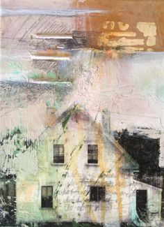 """Where ART Lives Gallery Artists Group Blog: Abstract Mixed Media Painting 30/30 Challenge """"Life Story"""" by Intuitive Artist Joan Fullerton"""