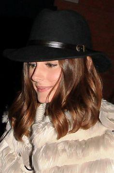 Olivia Palermo dons a fedora
