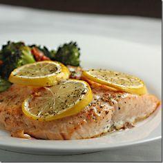 Chipotle Lemon Salmon
