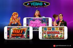 Cool Collection of Vegas-themed slots at our Casino Mobile, Vegas Mobile Casino. Read about them and play now #casino #UK #London