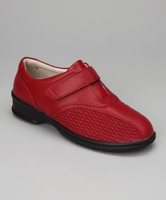 Take a look at this Chili Red Prudence Slip On by Propét on #zulily today!