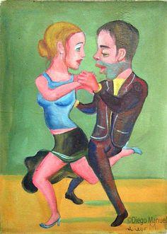 """tangaso 3"", acrylic on canvas, 22 x 30 cm."