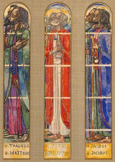 Apostelramen St. Jozefkerk Nijmegen Johannes Theodoor Jan Toorop (1858-1928) - Kunsthandel Studio 2000 - https://studio2000.nl//jan-toorop/apostelramen-st-jozefkerk-nijmegen/