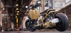 TopSecret Gold Honda Ruckus - Bikers Cafe