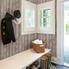 Wood Wallpaper - Peel and Stick