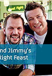 Jamie and Jimmy's Friday Night Feast (season Friday Night Feast, Danny Devito, Martin Freeman, Special Guest, Tv Series, Tv 2017, Tv Shows
