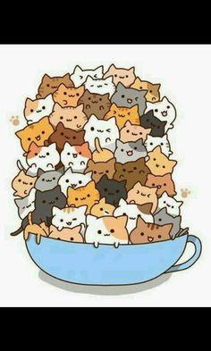 Sweet kociaki 😘😍💜