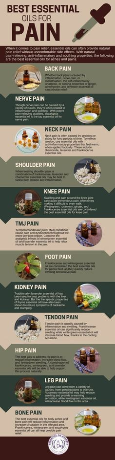 Best Essential Oils for Pain Management - Back, Nerve, Neck, Shoulder & Knee http://www.wartalooza.com/general-information/wart-removal-options-available-over-the-counter