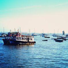 """""""Love this city'' #harbour #harbor #bay #Ships #ferry #ferryboat #Boats #naturelover #nature_perfection #landscape #landscape_captures #landscape_lovers #sky #bluesky #blueskies #wanderlust #wanderer #wander #worlderlust #simplicityeverywhere #traveldiaries #travel #nature #sea #seaside #mumbai #mumbaidiaries #ig_mumbai by manassaikia"""