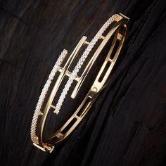 Gold Ring Designs, Gold Bangles Design, Gold Jewellery Design, Gold Jewelry, Gold Earrings For Women, Stylish Jewelry, Diamond Bracelets, Bracelet Designs, Wedding