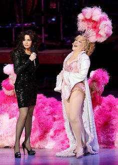 Marie Osmond & Bette Midler, my two most favorite female entertainers