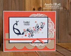 AEstamps a Latte...: #SSC169 Beautiful Friend, #beautifupeacock #stampinup #saleabration