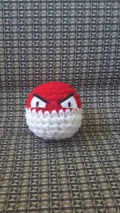 Check out this item in my Etsy shop https://www.etsy.com/listing/246687459/small-pokemon-voltorb