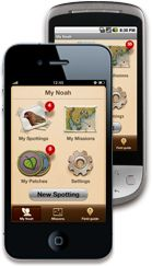 The Project Noah app for iOS or Android ... great resource for outdoor adventurers and teachers ... look up wildlife in your area to learn more about them or take a picture of wildlife and someone will identify it for you!