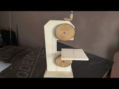 Making a Homemade Bandsaw (drill powered) - El Yapımı Şerit Testere - YouTube
