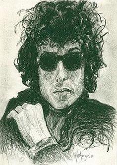 8- Bob Dylan Art