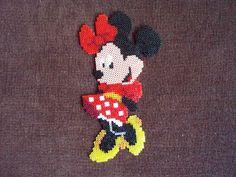 Enjoy the HandMade: Hama Beads para niños II: Espejo Minnie Mouse I