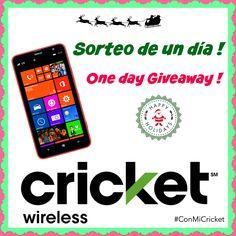 Fabuloso Sorteo de un Smartphone Hola, tenemos un #sorteo rápido en el blog (sólo hoy), el premio es un Smartphone !  http://soymamaencasa.com/2014/12/que-harias-con-tus-ahorros-una-razon-para-sonreir-sorteo.html  #ConMiCricket #Ad