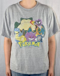 2d793c8d 90s Pokemon Shirt Youth XL Vtg Vintage Gotta by YourParentsCloset 90s Shirts,  Charizard, Catch