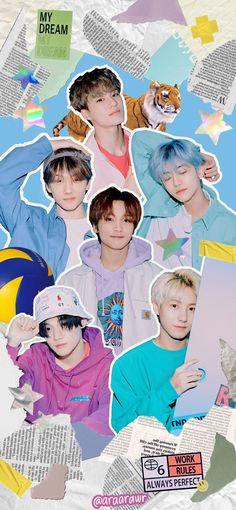 Taeyong, Jaehyun, Nct 127, Ntc Dream, Kpop Backgrounds, Nct Life, K Wallpaper, Jisung Nct, Cute Cartoon Wallpapers