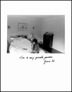 "Jim Goldberg, ""I'm a very private person."", San Francisco, from Rich and Poor Jim Goldberg, Escape The Night, Duane Michals, Feeds Instagram, Photographer Portfolio, Sad Art, Album Design, Photo Journal, Book Projects"