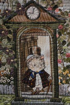 William Morris in Quilting: Tokyo Quilt Festival Part 2