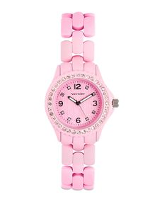 The Strawberry Macaroon Watch by JewelMint.com, $39.99