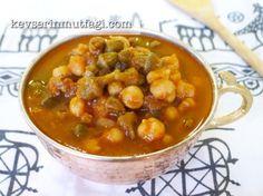 Kuru Bamya Yemeği Tarifi   Kevser'in Mutfağı - Yemek Tarifleri