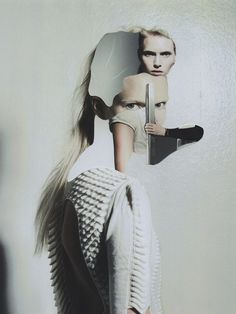 """""""Weird fashion"""" and 3D collage in Jesse Draxler's latest project"""