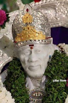 Sai Baba Pictures, God Pictures, Sai Baba Wallpapers, Om Sai Ram, Krishna, Blessing, 3d Printing, Leo, Spiritual