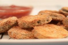 Howdini Food: How to Make Baked Zucchini Coins
