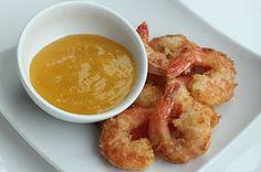 Coconut Shrimporange sauce~7g net carbs