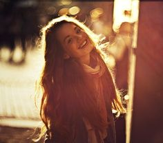 When she smiled, the earth became warmer; if that was even possible at this point.