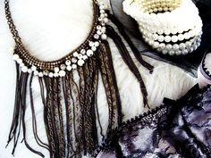 Fabulous with Fringe...Glamarella Junk necklace