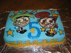 Fairly Odd Parents — Children's Birthday Cakes