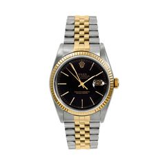 In 1945, at the dawn of a new era of prosperity, Rolex launched the first Datejust. The inaugural model with its waterproofness, streamlined elegance and date aperture on the face of the watch, was a timepiece ahead of its time. A stunning tribute...