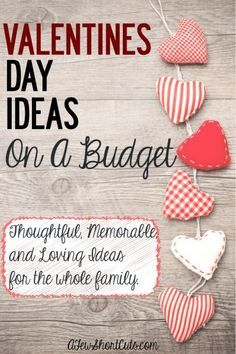 Valentines Day Ideas On a Budget Valentine's Day will be here before we know it. The budget aftermath of Christmas has reared i … Cheap Valentines Day Gifts, Fun Valentines Day Ideas, Valentine Crafts For Kids, Valentines Day Decorations, Valentine Day Love, Happy Valentines Day, Valentines Design, Homemade Valentines, Valentine Wreath