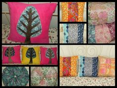 Cushions galore!! Cushions, Textiles, Quilts, Blanket, Bed, Home, Throw Pillows, Toss Pillows, Stream Bed