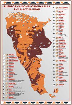 Argentina: Los pueblos originarios tienen su mapa, el trabajo ubica a los 38 pueblos naciones originarias en los lugares donde hoy viven (4 sep 2013)