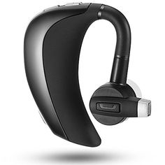 Bluetooth Headset, BlueFit JAZZ M3 Hands Free Wireless Headphones with Microphone for iPhone Samsung Android >>> You can find out more details at the link of the image.