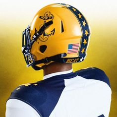 Oh, what a sight: Navy's 'Beat Army' uniforms a throwback to December 1963 - The Washington Post College Football Uniforms, College Football Players, Nfl Football, Football Helmets, Go Navy Beat Army, Army & Navy, Army Navy Football, Navy Midshipmen, Navy Air Force