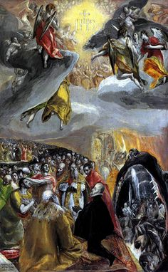 El Greco, The Adoration of the Name of Jesus